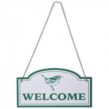 """Placuta de agatat pe usa """"Welcome"""""""