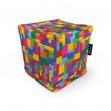 Fotoliu Units Puf (Bean Bags) tip cub, impermeabil, lego tetris