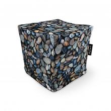 Fotoliu Units Puf (Bean Bags) tip cub, impermeabil, pietricele