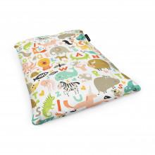 Fotoliu Units Puf (Bean Bags) tip perna, impermeabil, abecedar animale