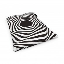 Fotoliu Units Puf (Bean Bags) tip perna, impermeabil, abstract zebra