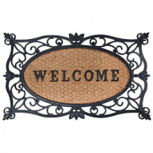"""Pres usa intrare """"Welcome"""""""