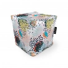 Fotoliu Units Puf (Bean Bags) tip cub, impermeabil, frunze multicolore