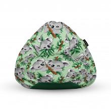 Fotoliu Units Puf (Bean Bags) tip para, impermeabil, cu maner, 100x80x70 cm, koala