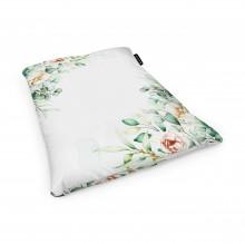 Fotoliu Units Puf (Bean Bags) tip perna, impermeabil, floral alb