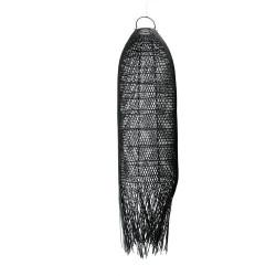 Lustra Bazar Bizar The Squid, Negru L, 30x30x110 cm