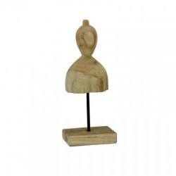 Statueta EREKA, lemn de tec, 35cm