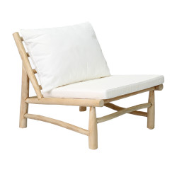 The Island One Seater - Natural White, , 70