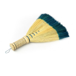 The Sweeping Brush - Natural Turquoise, ,