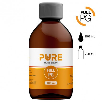 FULL VG - PURE - 100 ML - BOTTIGLIA 250 ML