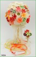 Bidermajer VALENTINA i cvet za njega