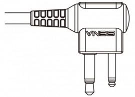 Kábel SR10 és Motorola PMR rádiókhoz (iker csatlakozós)
