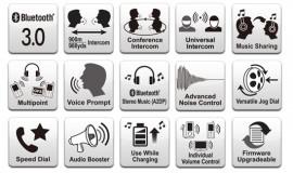 SENA SPH10 Bluetooth sztereó kommunikációs szett szabadtéri sportokhoz