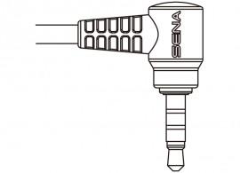 Kábel SR10 és Yaesu PMR rádiókhoz (egy csatlakozós)