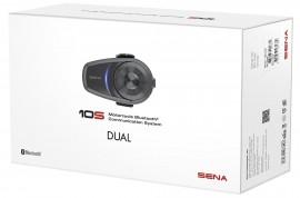 SENA 10S-DUPLA SZETT Bluetooth 4.1 sztereó kommunikációs szett univerzális mikrofon kittel kép