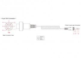 SM10-et csatlakoztató kábel BMW-hez