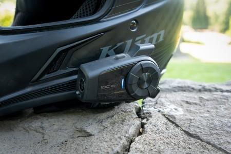 SENA 10C EVO Bluetooth kommunikációs rendszer integrált 4K kamerával