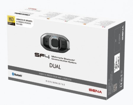 SF4 DUPLA CSOMAG HD-hangszórókkal, 4-résztvevős Bluetooth kapcsolat kép
