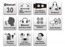 SENA 3S-WB Bluetooth sztereó kommunikációs szett minden típusú bukósisakhoz