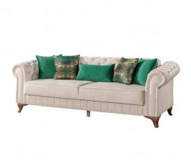 Chesterfield Extensible Sofa L 235 cm X l 90 cm X h 85 cm