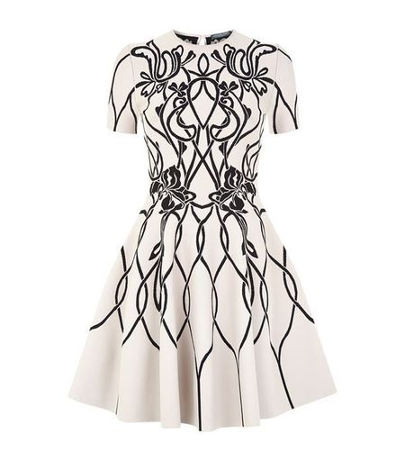 Volume Mini Dress