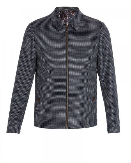 San Textured Zipped Jacket