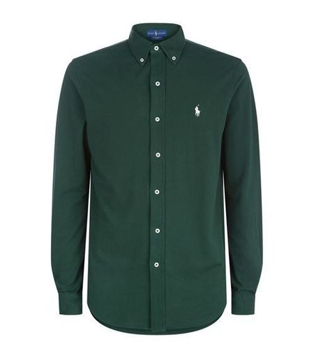 Cotton Piqué Shirt for men