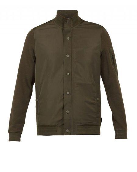 Gondog Funnel Neck Nylon Jacket