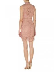 Lace Panel Shift Dress