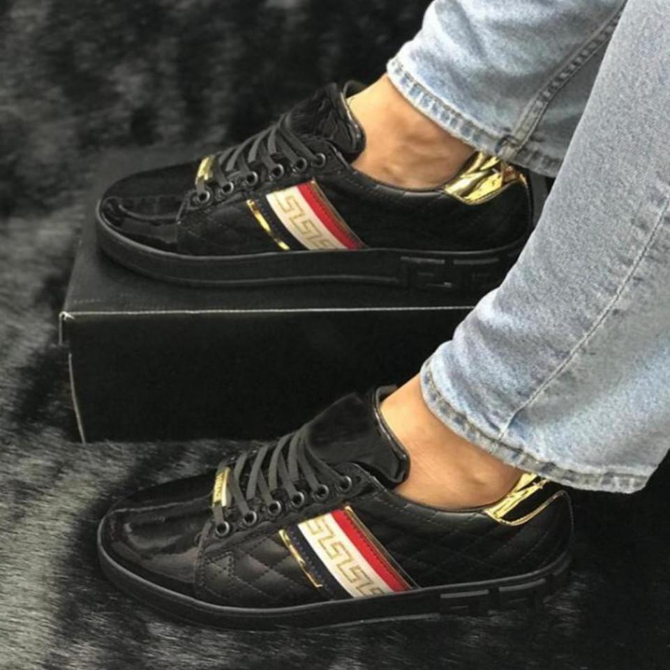 Pantofi sport barbati, negri, foarte usori si comozi, ISAHAR