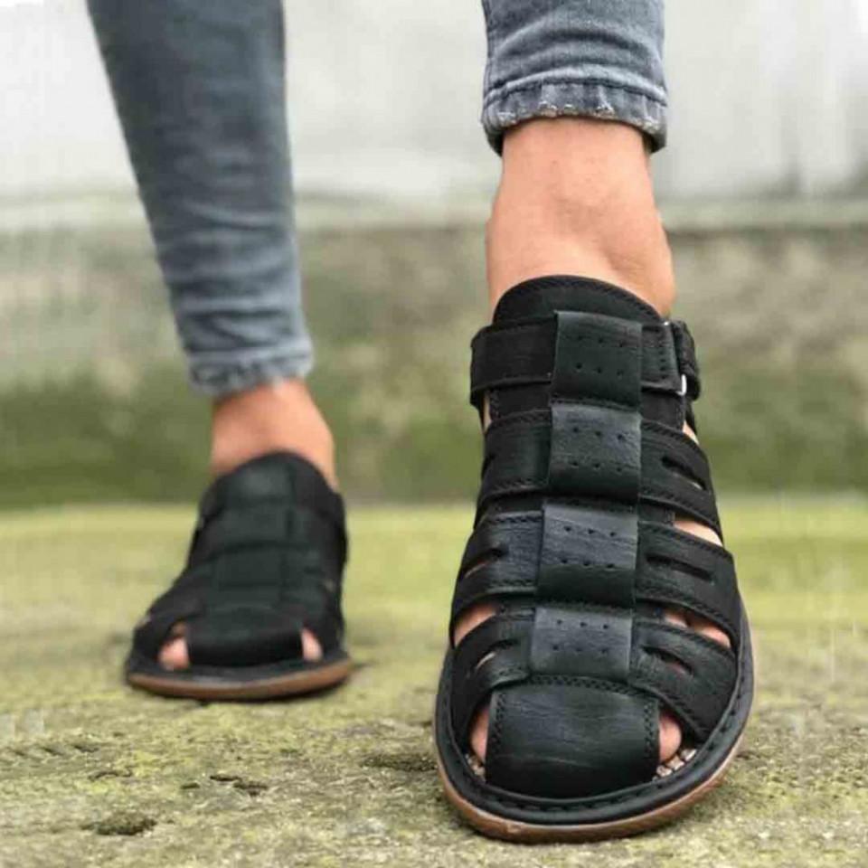 Sandale sport barbati negre eu154a