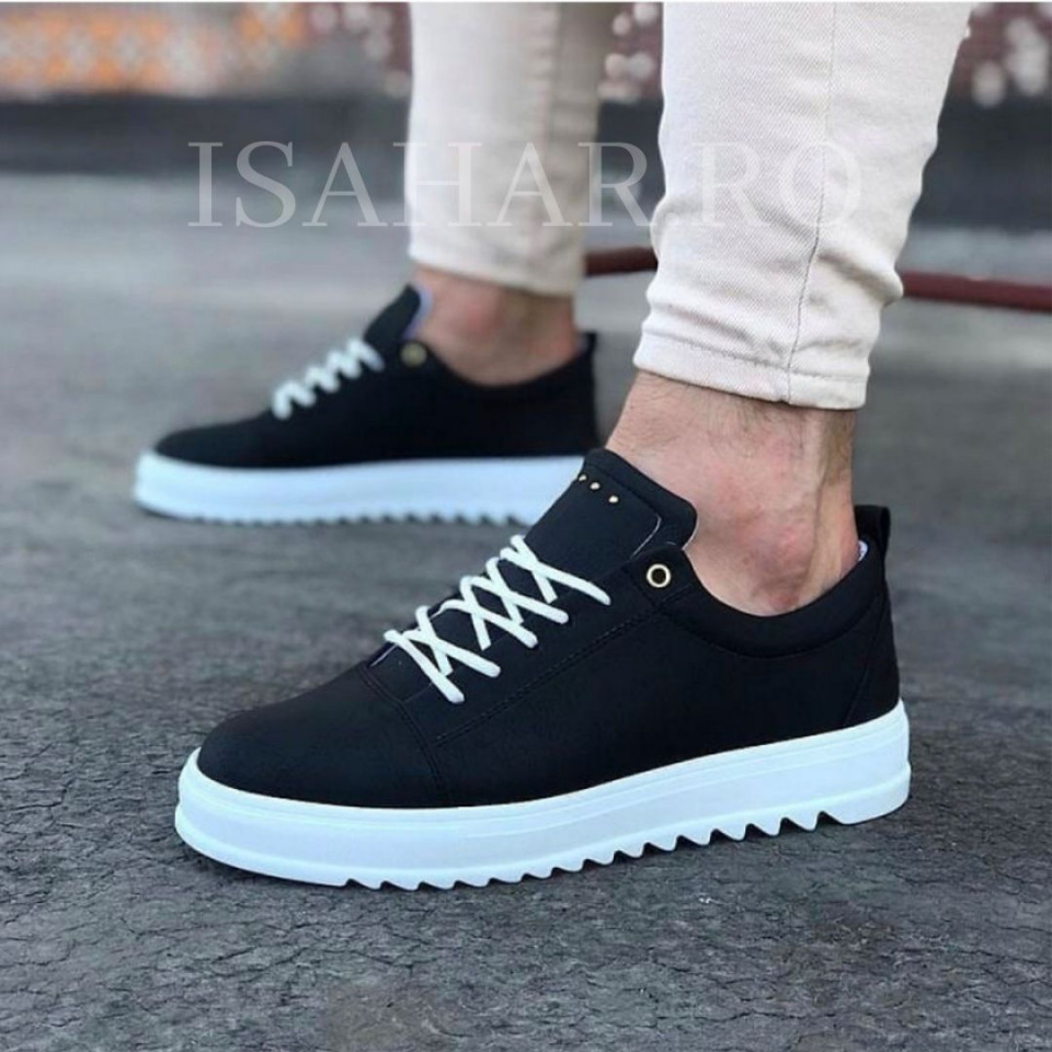 Pantofi sport barbati, negri, Armyx, super model, casual, ISAHAR