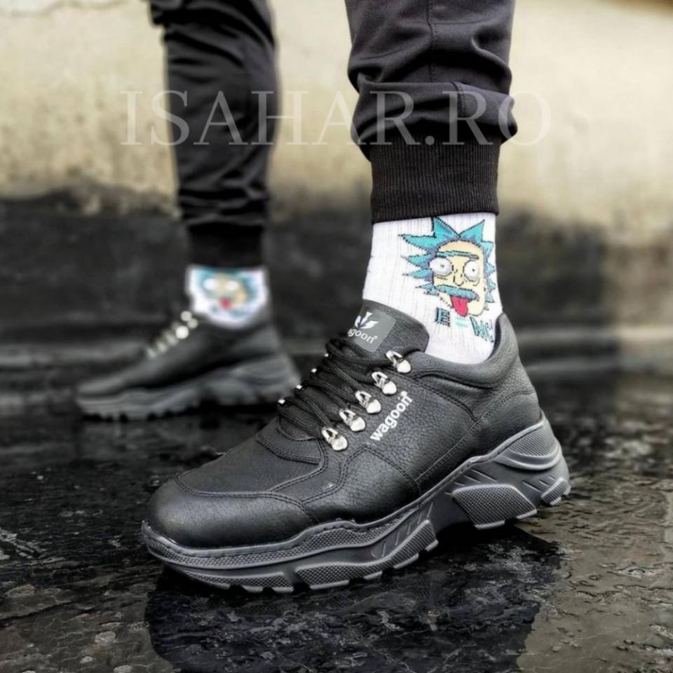 Pantofi sport barbati, talpa inalta, model cpremium, ISAHAR