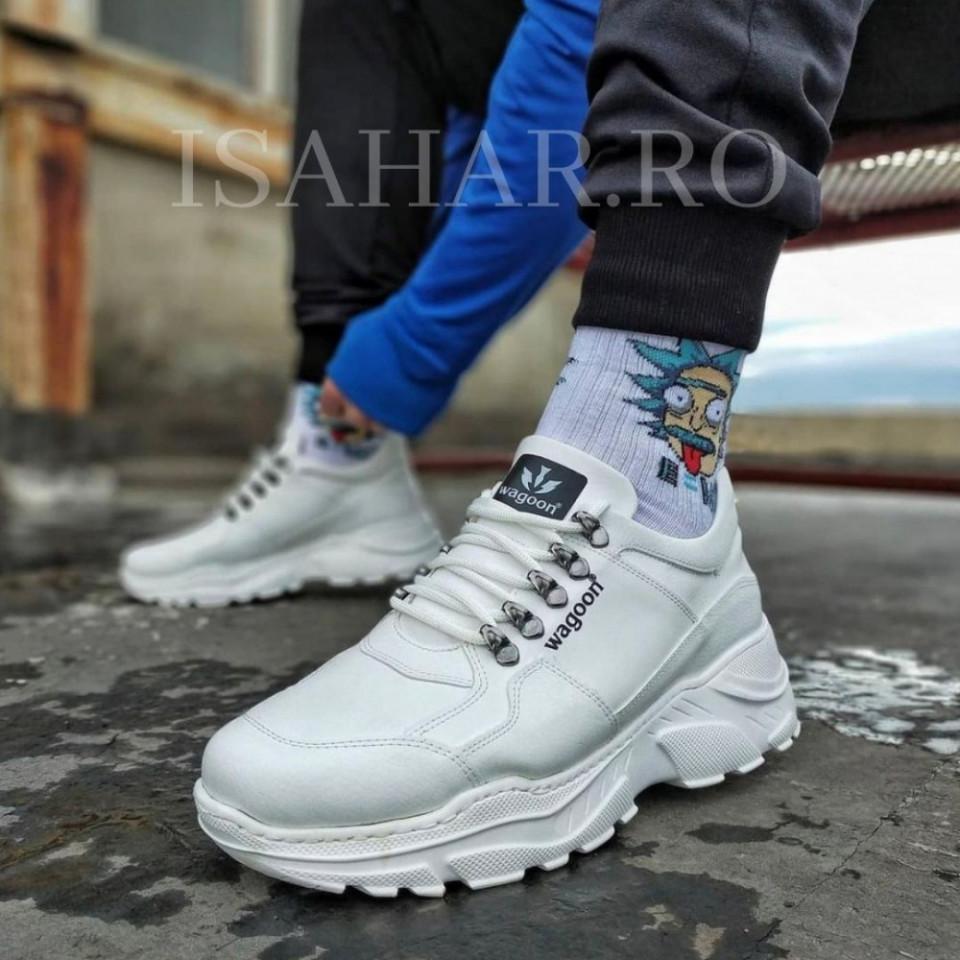 Pantofi sport barbati, talpa usoara premium, model casual, ISAHAR