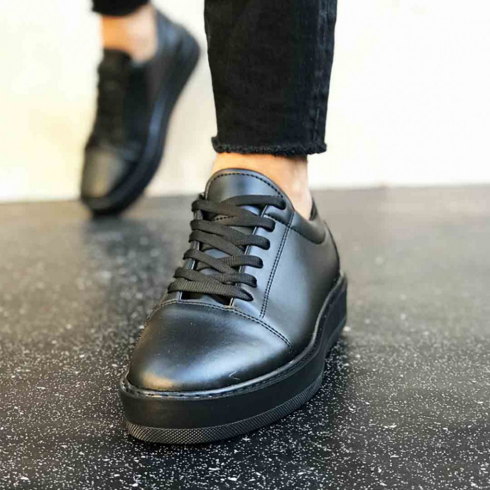 Pantofi sport barbati, interior confortabil, model casual, ISAHAR