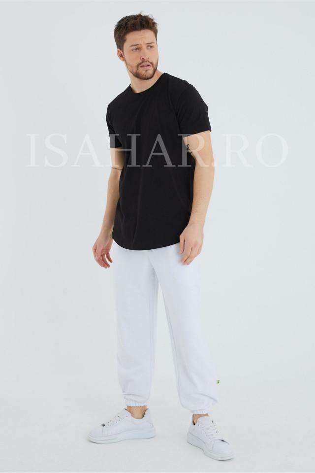 Tricou barbati , negru, material premium, model BREEZY, ISAHAR