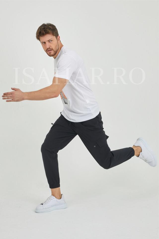 Tricou premium barbati BREEZY din bumbac, model super cool, Isahar