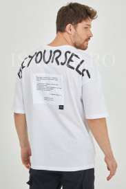 Tricou barbati BREEZY, casual, din bumbac premium, model super cool, Isahar