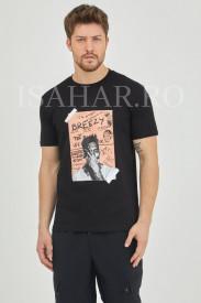 Tricou barbati model BREEZY, casual, din bumbac premium, model super cool, Isahar