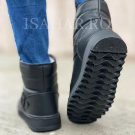 Ghete barbati, imblanite, model premium SKI, calduroase, usoare si elegante, ISAHAR