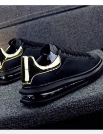 Pantofi sport unisex, negri, AIR MAX, super model, ISAHAR