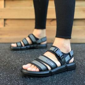 Sandale sport barbati, gri, ISAHAR