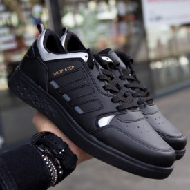 Pantofi barbati, casual, negri, ISAHAR