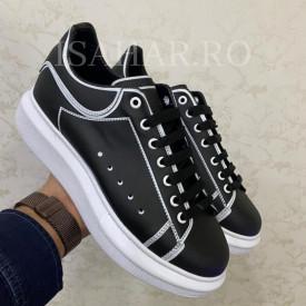 Pantofi sport barbati, negri, calitate premium, ISAHAR