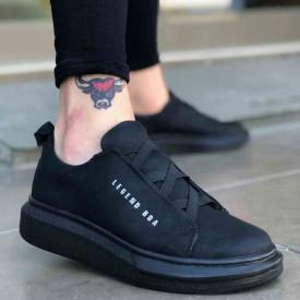 Pantofi sport, mode casual negri, usor de incaltat,talpa spuma, interior antisoc. ISAHAR