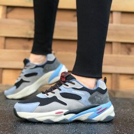 Pantofi sport barbati, premium, cu talpa din spuma, foarte usori si comozi