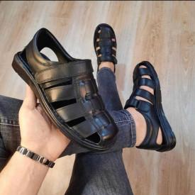 Sandale barbati, 100% PIELE NATURALA, usoare si confortabile, ISAHAR