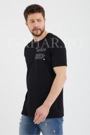 Tricou barbati , model BREEZY premium, croiala slim, ISAHAR