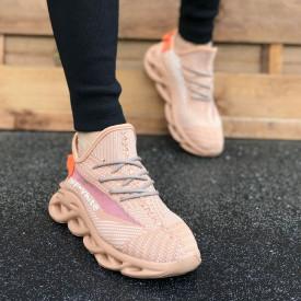 Pantofi sport barbati, nude, pentru alergat, foarte usor, talpa spuma