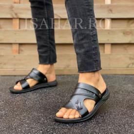 Sandale barbati, usoare si comode, model casual, ISAHAR